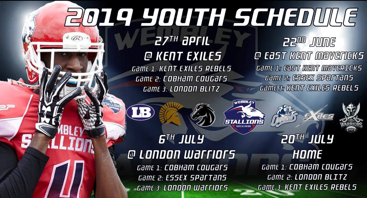 Wembley Stallions – American Football Team